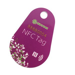 Custom logo RFID MIFARE Classic 1K loyalty PVC Key tag pictures & photos
