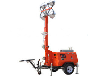 Good Price Flood Trailer Light Tower for Sale pictures & photos