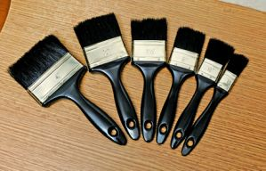 88mm Professional Paint Brush with High Elastic Filaments and Maple Handle pictures & photos