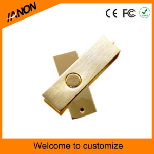 Wholesale Gold USB Key Metal USB Flash Memory pictures & photos