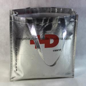 Custom Non Woven Shopping Bag, with Metallic Lamination pictures & photos