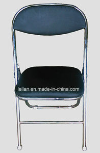 Steel Folding Chair with Padded Back and Seat (LL-0031) pictures & photos
