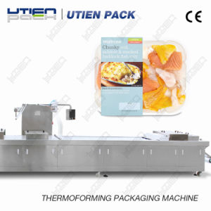 Sea Food Automatic Thermoforming Vacuum Skin Packaging Machine (VSP) pictures & photos