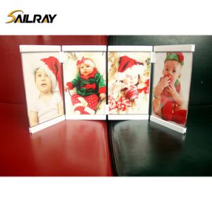 """5""""*7""""Leggy Horse Home Decoration New Style Acrylic Photo/Picture Frame with 4 Piece Set pictures & photos"""