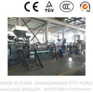 Filler Masterbatch Making Machine with Twin Screw (ZHANGJIAGANG) pictures & photos