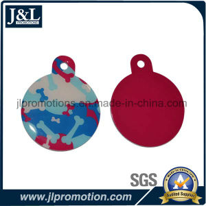 High Quality Aluminum Pet Tag Round Shape pictures & photos