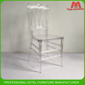 Hot Sale Crystal Wedding Patry Furniture acrylic Chiavari Napoleon Chair pictures & photos