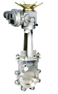 Knife Shaped Gate Valve (PZ73) pictures & photos
