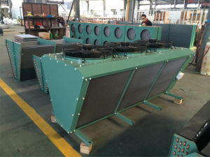 China Hot Sale V Type Cooper Tube Air Cooled Condenser pictures & photos