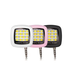Manufacturer LED Mini Flash Fill Selfie Light Lamp Outdoor Lighting for Mobile Phone