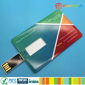 13.56MHz MIFARE Classic 1K RFID USB Business Card Flash Drives pictures & photos