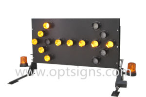 OEM Portable Road Safety Solar Directional Arrow Board Trailers Traffic Warning LED Flashing Arrow Signs pictures & photos