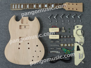 Pango Sg Style DIY Electric Guitar Kit / DIY Guitar (PSG-526K) pictures & photos