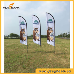 Advertising Custom Aluminium Feather Flag/Bali Flag pictures & photos