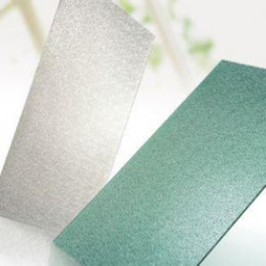 Frosted Solid Polycarbonate Panel for House Wall Decoration Material pictures & photos