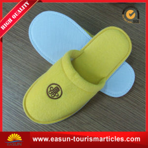 Comfortable Terry Hotel Disposable Slippers pictures & photos