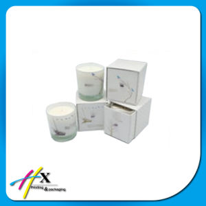 Luxury Rigid Custom Cardboard Made Candle Packaging Box pictures & photos