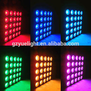 Brightness 25PCS*30W LED Matrix Light Matrix Blinder pictures & photos
