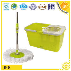 House Cleaner Spin Go Shop Magic Microfiber Mop pictures & photos