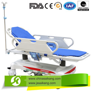 Hydraulic Medical Transportation Trolley pictures & photos
