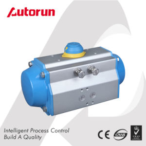 Chinese Wenzhou Manufacturer Double Acting Quarter Turn Pneumatic Actuator pictures & photos