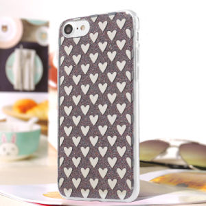 Flash Glitter TPU Kickstand Mobile Cell Phone Case for iPhone 7 pictures & photos