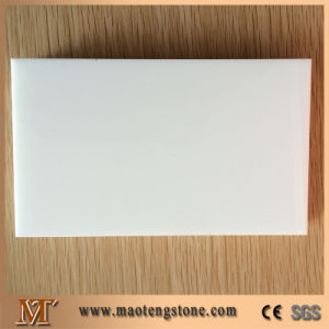 High Quality Building Materials Pure White Nano Crystallized Glass pictures & photos