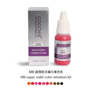 Goochie M8 Inorganic Pigment Permanent Makeup Color pictures & photos