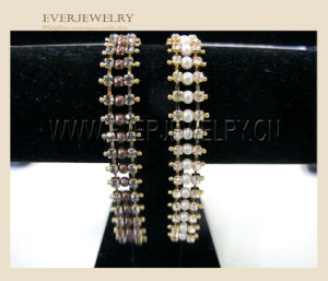 Seing on Decorative Glass Crystal Rhinestone Brass Cup Chain pictures & photos