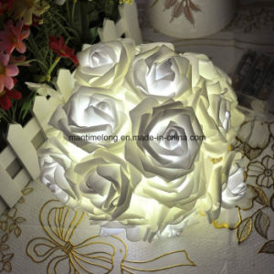 Fashion Holiday Lighting 20 X LED Novelty Rose Flower Fairy String Lights