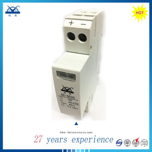 IEC61643 1p 8/20 40ka SPD DC 24V 48V Surge Arrester pictures & photos