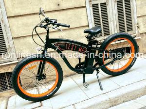 Classic Beach Cruiser 250W/500W Electric 26X4 Fat Tyre Bike/E Fat Tire Bicycle/Electric Snow Bike/E Fatty Bicycle/E Sand Bike/E All Terrain Electric Bike Ce pictures & photos