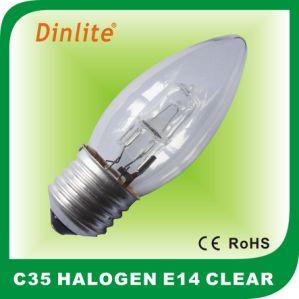 Long life C35 E27 candle halogen light bulb pictures & photos