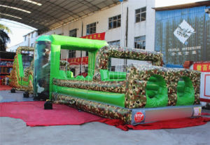 Giant Bouncer Castle Army Inflatable Obstacle Course (CHOB465-1) pictures & photos