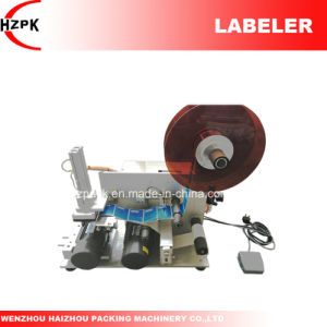 Semi-Auto Flat Labeler Flat Labeling Machine From China pictures & photos