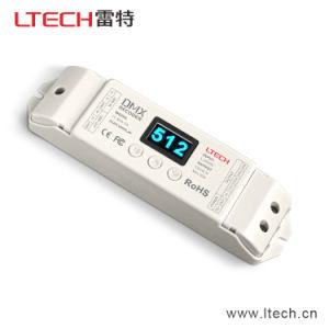 Ltech Lt-820-5A 4CH CV DMX Decoder (8/16 bits, OLED Display) DMX512 Controller