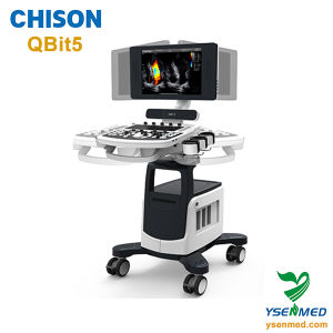 Chison Qbit5 Trolley Mobile Color Doppler Ultrasound Equipment pictures & photos