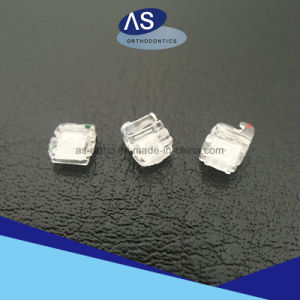 Orthodontic Sapphire Self Ligating Brackets; Transparent Self Ligating Brackets; Aesthetics Self Ligating Brackets pictures & photos