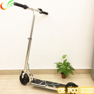 "5"" Folding Elecitrc Scooter with Handle Foldable Mini Electric Scooter with LCD Meter pictures & photos"