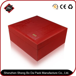 Wholesale UV + Bronzing Printing Paper Gift Color Box pictures & photos