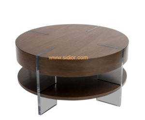 (CL-5528) Antique Hotel Restaurant Villa Lobby Furniture Wooden Coffee Table pictures & photos