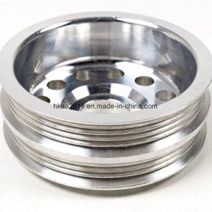 Lightweight Aluminium Alloy Engine Crank Pulley OEM Custom Made pictures & photos