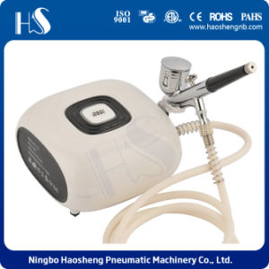 HS08-6AC-Sk Portable Airbrush Compressor Kit for Makeup and Cosmetic pictures & photos