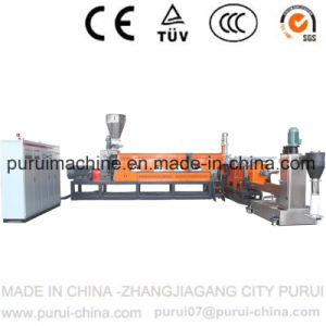 Plastic PP PE Film Bottle Flakes Recycling Pelletizing Machine pictures & photos