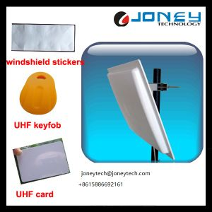 Hot Sell Automatic Parking RFID Long Range UHF Reader with Windshield Stickers pictures & photos