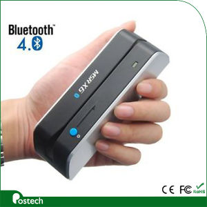 Fast Delivery Bluetooth Card Reader Writer Encoder Msrx6 Msrx6bt, Bluetooth Card Writer pictures & photos