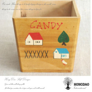 Hongdao Custom Wooden Candy Storage Box with Custom Logo Wholesale _E pictures & photos