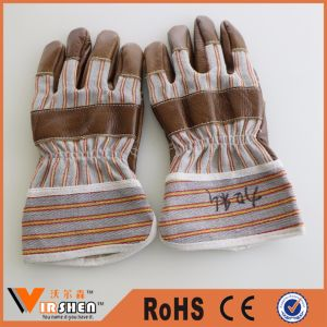 Leather Driver Safety Work Gloves pictures & photos