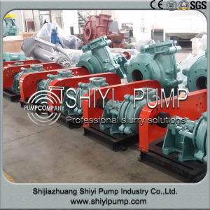 Chemical Process Horizontal Centrifugal High Pressure Slurry Pumps pictures & photos