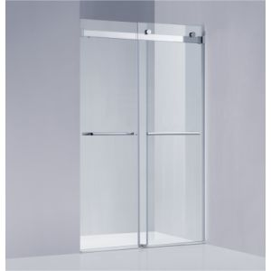 304SUS & 8/10mm Tempered Glass Sliding Shower Screen (A-KW022-D)